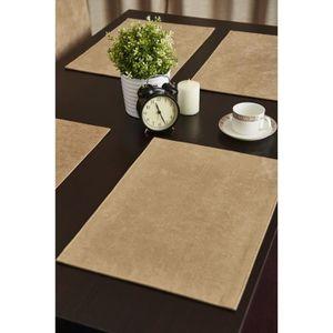 set de table dore achat vente set de table dore pas cher cdiscount. Black Bedroom Furniture Sets. Home Design Ideas