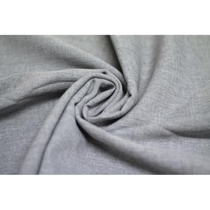 tissu burlington flamm gris au m tre achat vente tissu tissu burlington flamm gri cdiscount. Black Bedroom Furniture Sets. Home Design Ideas