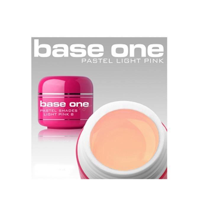 Gel ongles uv rose clair pastel n 8 5 g pro achat for X uv cuisine