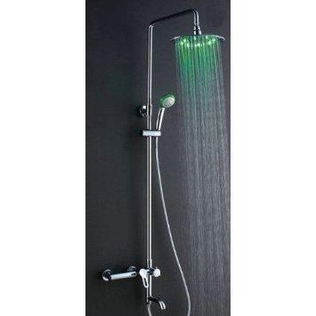 mitigeur robinet 8 colonne de douche led avec poig achat vente colonne de douche mitigeur. Black Bedroom Furniture Sets. Home Design Ideas