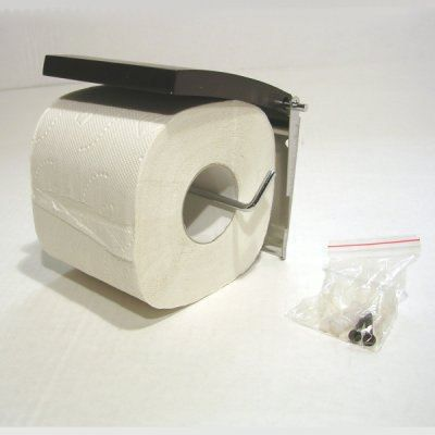 d rouleur papier wc bois fonc et fil chrom achat. Black Bedroom Furniture Sets. Home Design Ideas