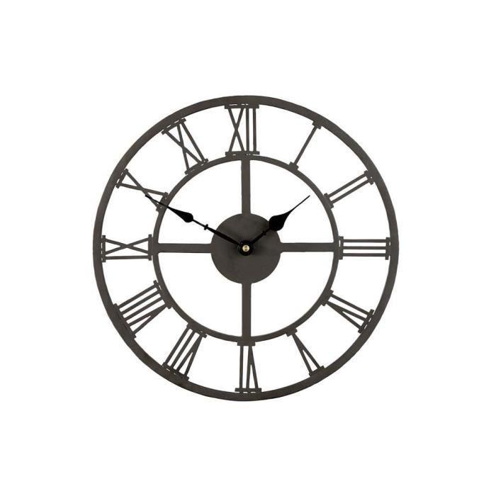 horloge murale romaine 34 cm achat vente horloge