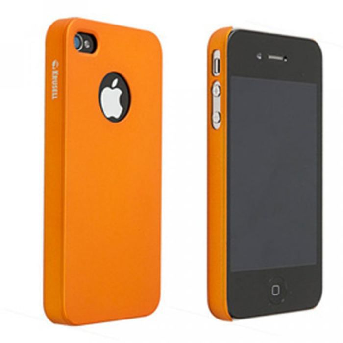 coque iphone 4 arri re colorcover krusell orange achat. Black Bedroom Furniture Sets. Home Design Ideas