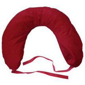 coussin cervical noyaux de cerises rouge achat vente. Black Bedroom Furniture Sets. Home Design Ideas