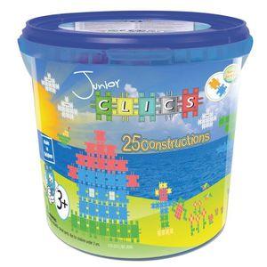 ASSEMBLAGE CONSTRUCTION Clics-Jeux de construction-Drum Junior