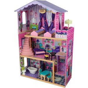 MAISON POUPÉE KidKraft Ma maison de rêve 13 pièces de mobilier