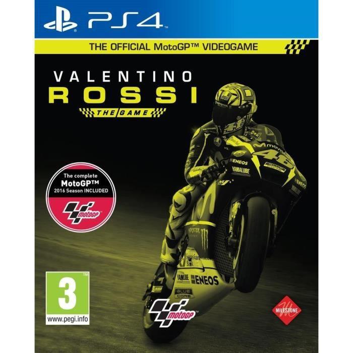 Valentino Rossi : The Game Jeu PS4 - Achat / Vente jeu ps4 ...