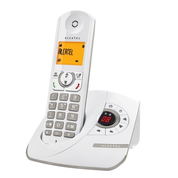 alcatel f330 voice gris t l phone r pondeur achat vente t l phone fixe alcatel f330. Black Bedroom Furniture Sets. Home Design Ideas