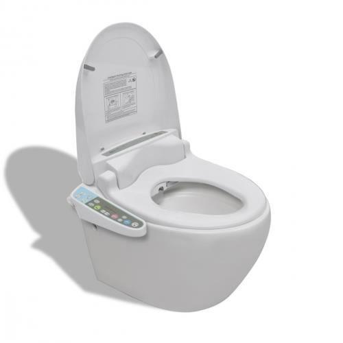 Cuvette suspendue abattant japonais lectronique achat vente wc toile - Wc suspendu japonais ...