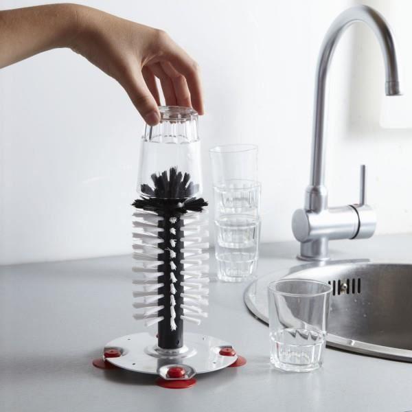 brosse lave verre sur socle ventouses achat vente brosse alimentaire brosse lave verre sur. Black Bedroom Furniture Sets. Home Design Ideas