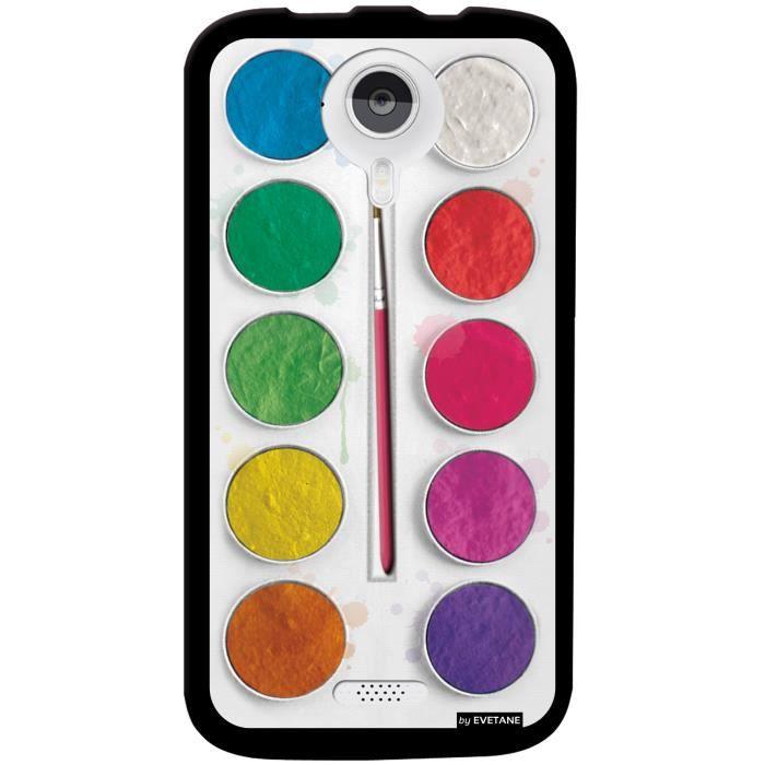 Coque palette de peinture pour wiko cink five achat coque bumper pas cher avis et meilleur for Peinture palette