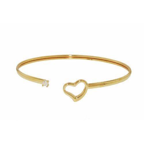 Bracelet , Femme , Coeur , Or jaune 9 Cts 1.88 \u2026