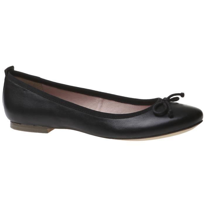 ballerine en cuir noir femme noir achat vente ballerine en cuir noir femme  pas cher b31d6403c751