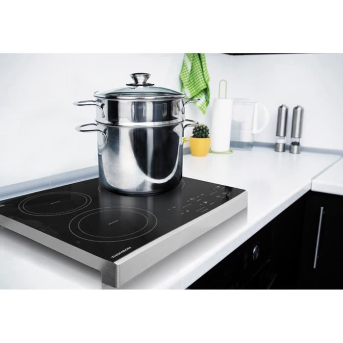Thomson thhp07082 table induction posable 3 foyers - Table induction posable 2 foyers ...