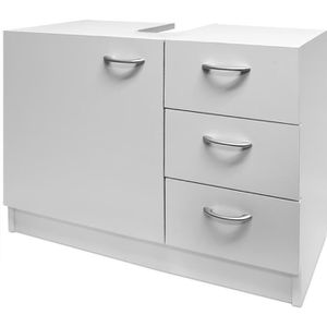 Meuble sous lavabo achat vente meuble sous lavabo pas for Ensemble evier et meuble sous evier 120 cm