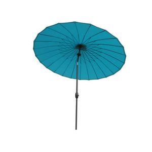 Parasol aluminium rond boyeros lagon m achat vente parasol parasol - Parasol prix discount ...