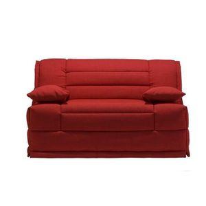 Banquette BZ mousse confort 12 cm rouge - PANAMA
