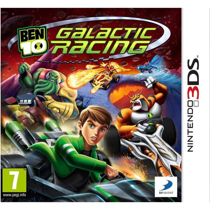 ben 10 galactic racing jeu console 3ds achat vente jeu 3ds ben 10 galactic racing 3ds. Black Bedroom Furniture Sets. Home Design Ideas