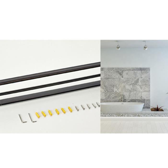 porte serviette noir salle de bain achat vente porte serviette noir salle de bain pas cher. Black Bedroom Furniture Sets. Home Design Ideas