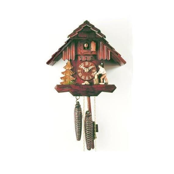 pendule coucou petite maison de la for t noire achat vente horloge cdiscount. Black Bedroom Furniture Sets. Home Design Ideas