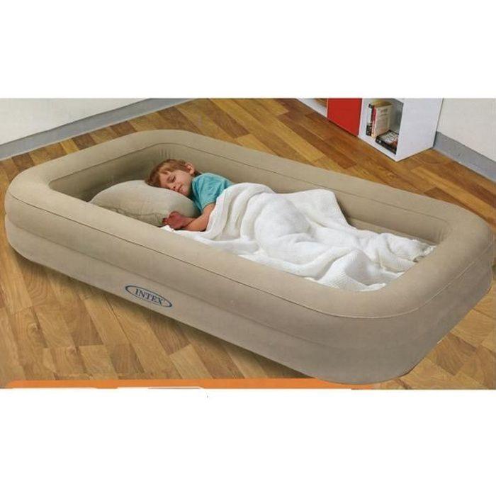 matelas gonflable pour enfant avec pompe prix pas cher cdiscount. Black Bedroom Furniture Sets. Home Design Ideas