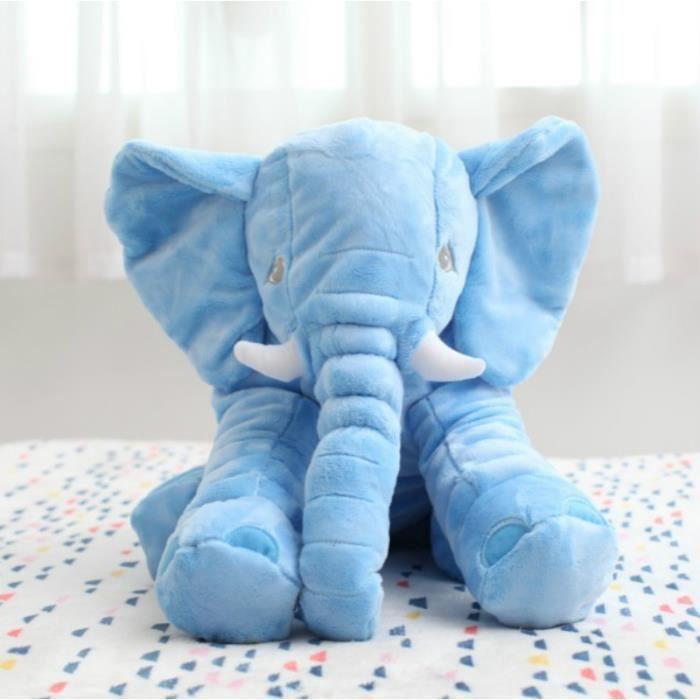 elephant peluche oreiller b b appease bleu bleu achat vente oreiller b b soldes cdiscount. Black Bedroom Furniture Sets. Home Design Ideas