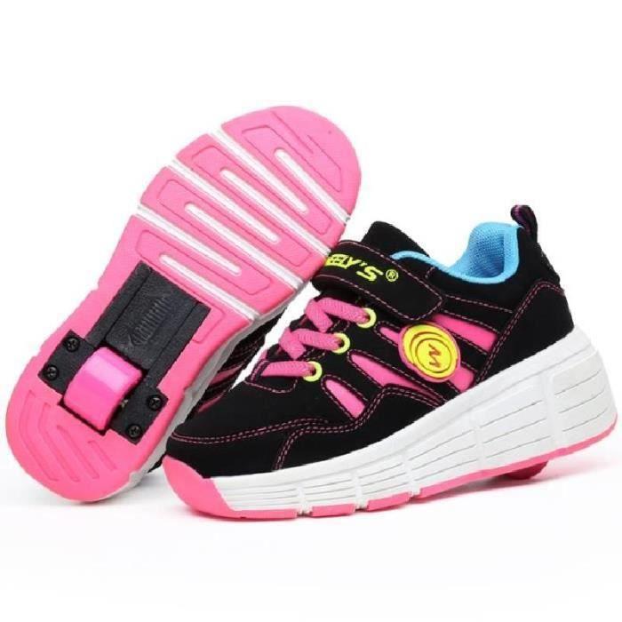 mode enfants chaussures filles gar ons roulet rose. Black Bedroom Furniture Sets. Home Design Ideas