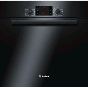 BOSCH HBA 63 B 265 F - Four électrique encastrable multifonction - Chaleur tournante - 65L - Pyrolyse - A - Noir