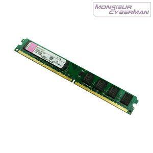 MÉMOIRE RAM Ram Barrette Mémoire Kingston 1Go DDR2 KVR667D2…