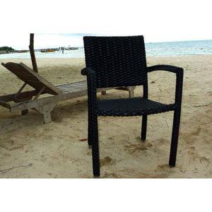 Fauteuil rotin et metal achat vente fauteuil rotin et - Fauteuil de jardin en rotin pas cher ...