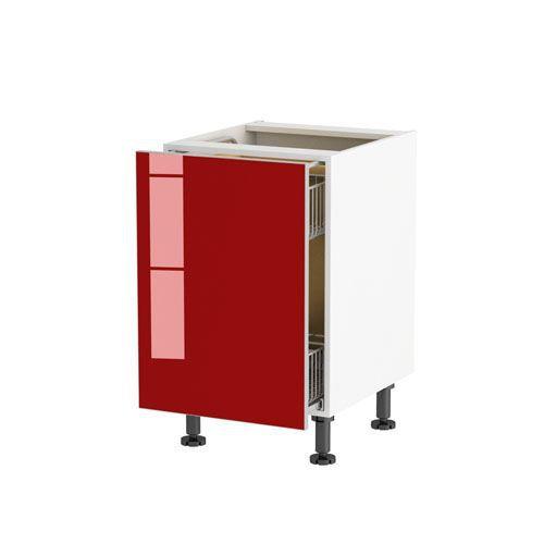meuble cuisine bas 50cm 1 porte coulissant sac achat vente l ments haut et bas meuble. Black Bedroom Furniture Sets. Home Design Ideas