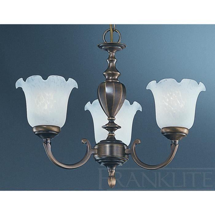 lustre naples 3 ampoules en laiton et verre achat vente lustre naples 3 ampoules en les. Black Bedroom Furniture Sets. Home Design Ideas