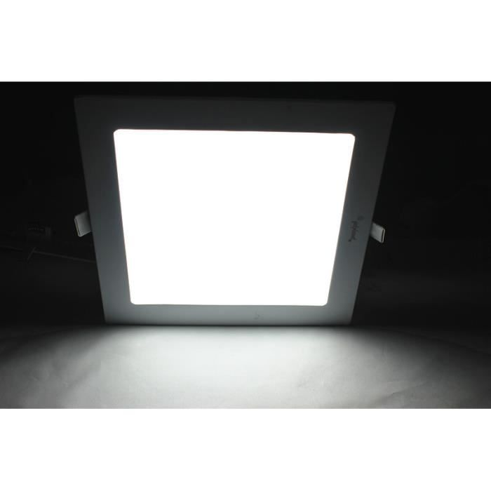 spot lampe led encastrable 12w carr couleur froide achat vente spot lampe led encastrable. Black Bedroom Furniture Sets. Home Design Ideas