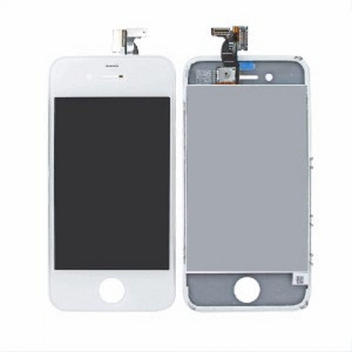 ecran tactile lcd pour iphone 4 blanc achat pi ce t l phone pas cher avis et meilleur prix. Black Bedroom Furniture Sets. Home Design Ideas