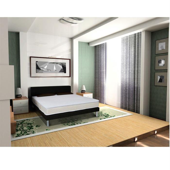 distri sommeil sur matelas luxe 160x200 mousse achat vente sur matelas cdiscount. Black Bedroom Furniture Sets. Home Design Ideas