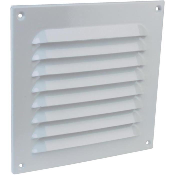 grille de protection en alu blanche 200x200 achat vente a ration grille de protection en. Black Bedroom Furniture Sets. Home Design Ideas