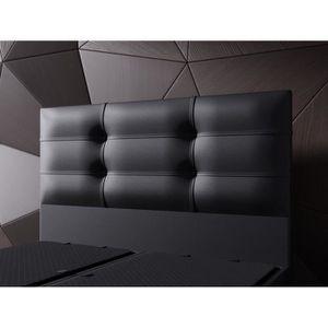 lit 160x200 complet achat vente lit 160x200 complet pas cher cdiscount. Black Bedroom Furniture Sets. Home Design Ideas