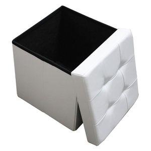 Pouf Poire Pouf Blanc Coffre Et Pliable Grande Table Haute