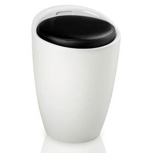 coffre rangement avec assise blanc achat vente coffre rangement avec assise blanc pas cher. Black Bedroom Furniture Sets. Home Design Ideas