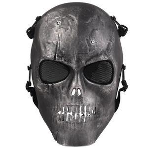 MASQUE DE PROTECTION Masque de crâne Squelette Paintball Full Face Airs