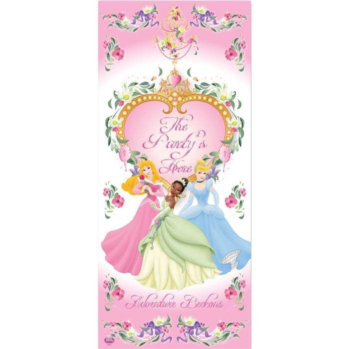 D coration murale disney princesses achat vente d co for Decoration maison disney