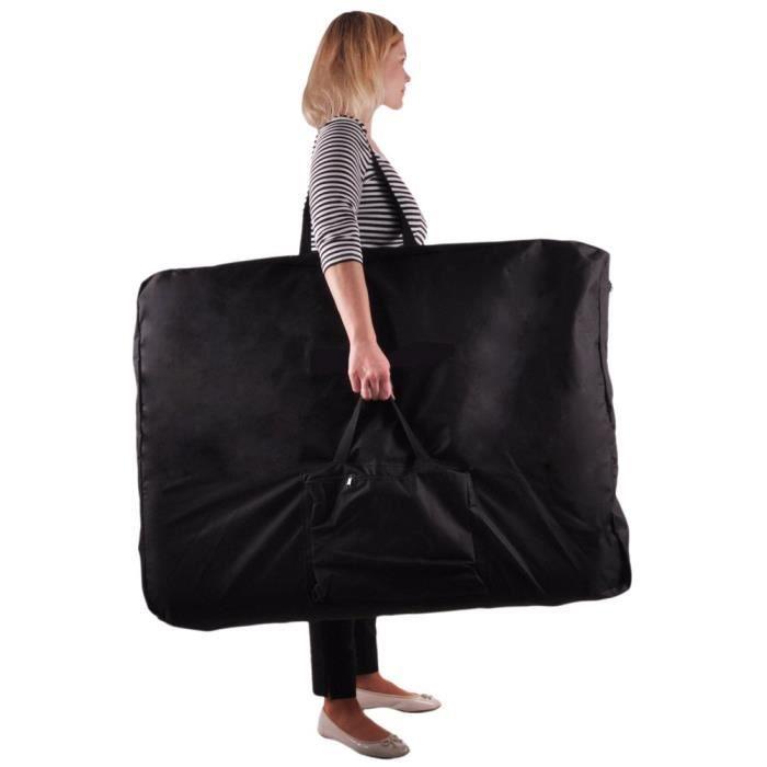 housse de transport table massage 93x70x18 cm achat vente table de massage housse de. Black Bedroom Furniture Sets. Home Design Ideas