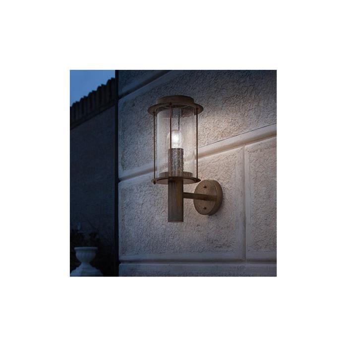 Applique d exterieur rustique chic achat vente for Achat eclairage exterieur