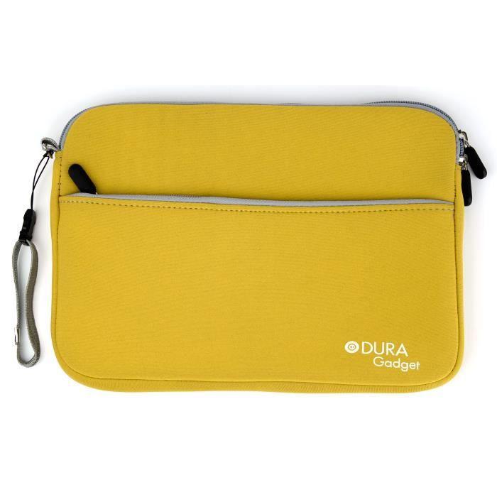 housse jaune pour la tablette lazer my1306 prix pas cher cdiscount
