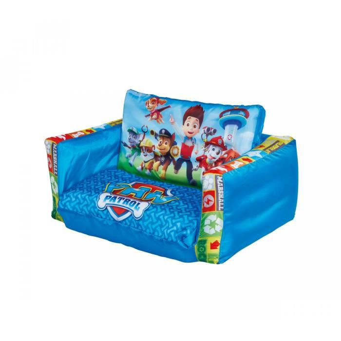 canap enfant convertible pat patrouille achat vente chauffeuse pouf 3700595109085 cdiscount. Black Bedroom Furniture Sets. Home Design Ideas
