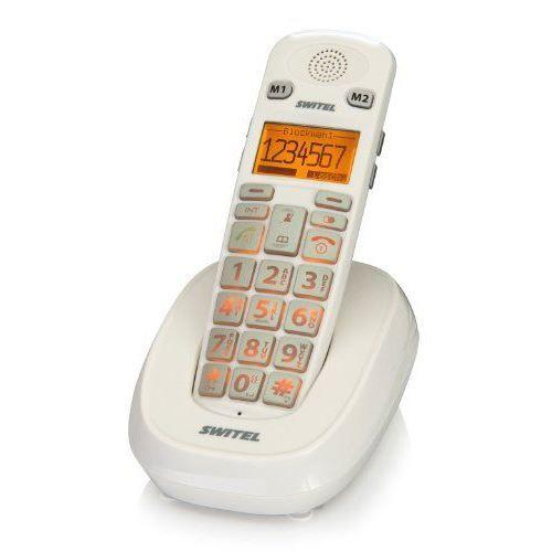 switel dc731 t l phone sans fil blanc achat vente t l phone fixe switel dc731 t l phone sans. Black Bedroom Furniture Sets. Home Design Ideas