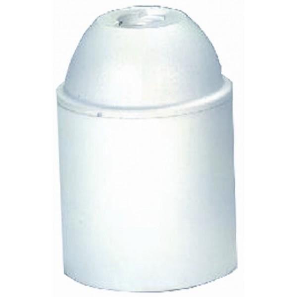 Douille plastique e27 lisse blanc achat vente douille cdiscount - Douille plastique ampoule ...