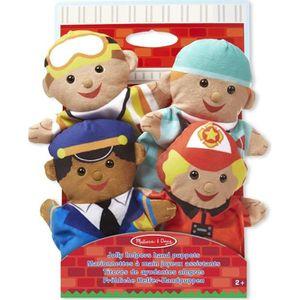 MELISSA DOUG Marionnettes Main Joyeux Assistants