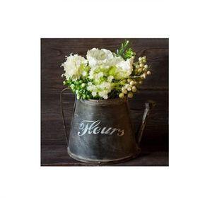 TABLEAU - TOILE Cadre toile - tableau Fleur blanche