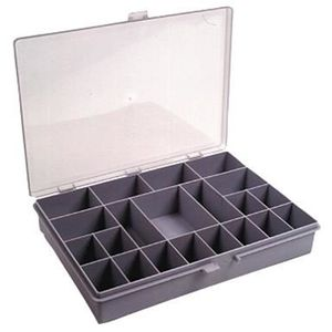 raaco mallette de rangement 21 cases achat vente boite a compartiment plastique cdiscount. Black Bedroom Furniture Sets. Home Design Ideas